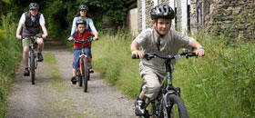 family bike hire in the lake district